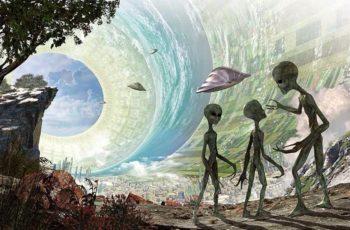 a existência de extraterrestres