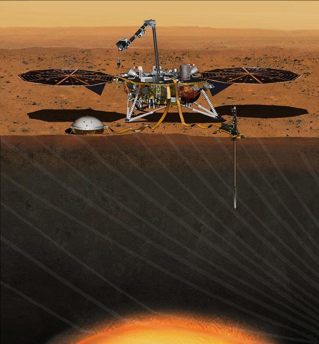 revelar os segredos de Marte