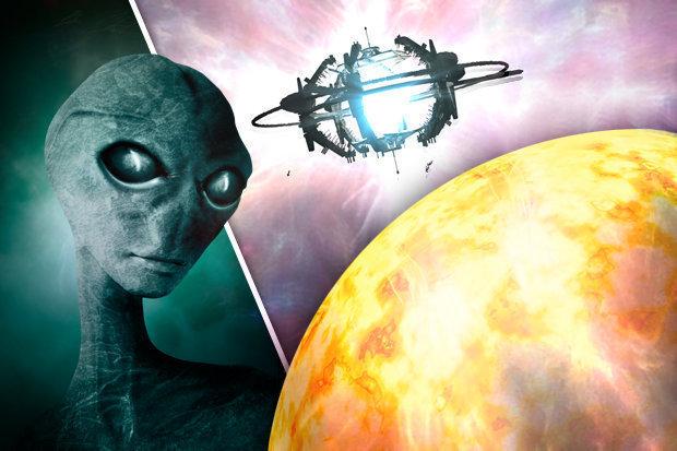 mistério da possível estrutura alienígena