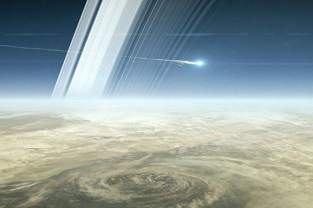 Cassini termina com missão suicida