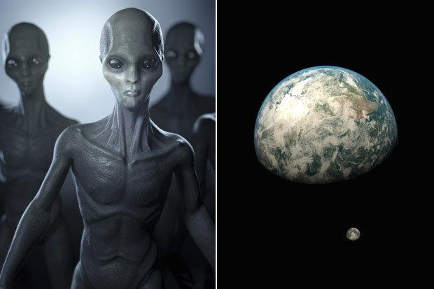 Alienígenas vigiando a Terra