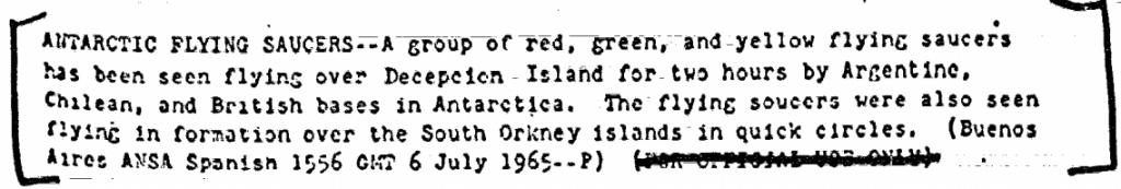 OVNIs multicoloridos aparecem na Antártica