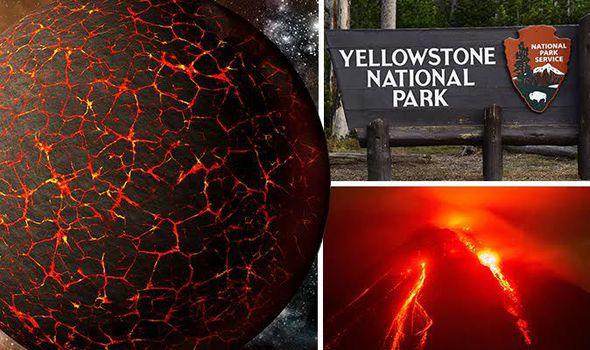 Planeta X irá ativar o vulcão Yellowstone