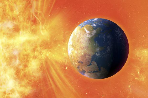 atividade estranha no Sol