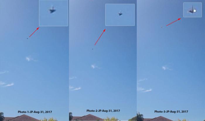 fotos de OVNIs antigravitacionais