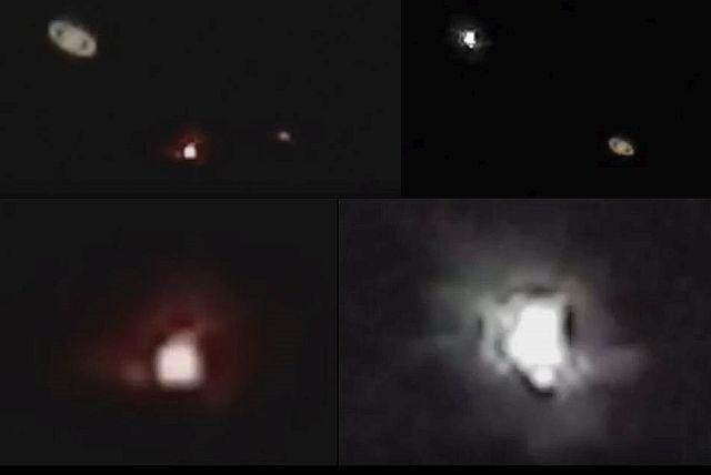 Atividade de OVNIs é registrada na direção de Saturno