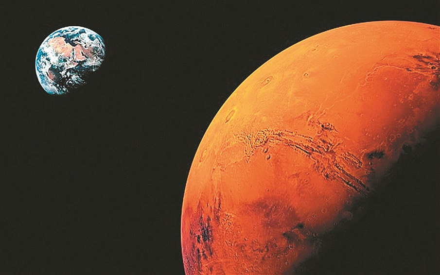 vida pode estar abaixo da superfície de Marte