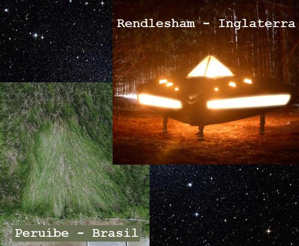 OVNI de Peruíbe relacionado ao OVNI de Rendlesham?