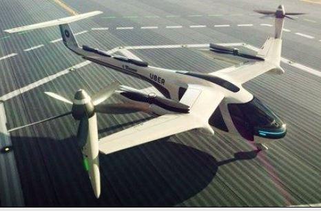 Uber planeja lançar taxi voador