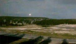 OVNI é filmado recentemente no Parque Yellowstone