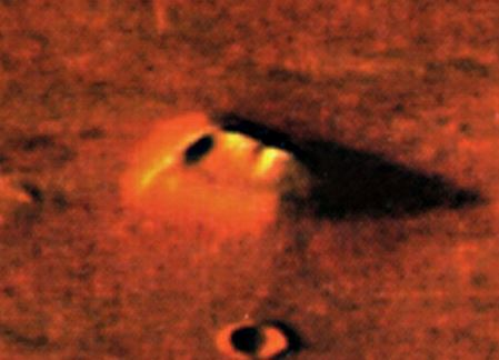 estruturas em Marte podem ter sido feitas por alienígenas