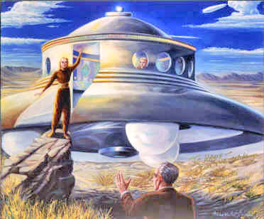 Teriam ETs de Vênus feito contato em 1952