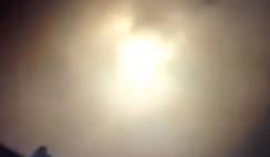 Misterioso fenômeno luminoso no céu da Colômbia