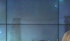 OVNI aparece em transmissão ao vivo de noticiário