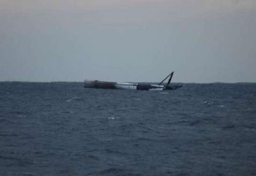 Força Aérea dos EUA explodiu foguete propulsor da SpaceX