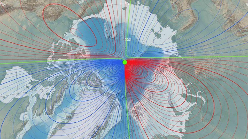 O campo magnético da Terra está mudando