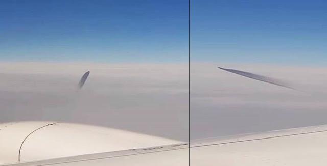Estranho OVNI passa perto de avião comercial na Turquia