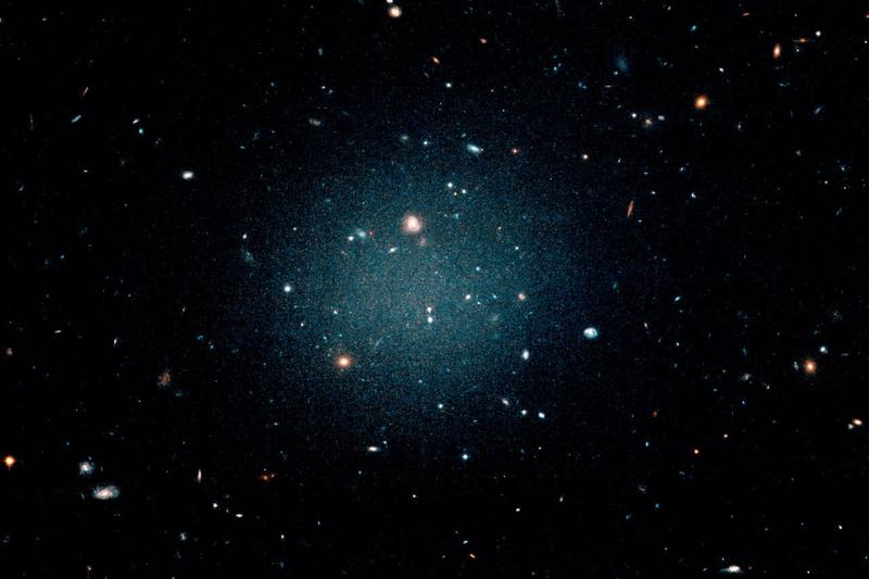 galáxia sem matéria escura