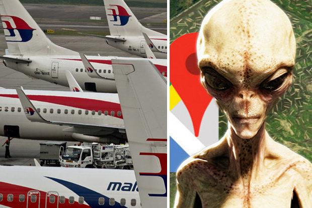 estranhas mensagens falando sobre uma possível invasão alienígena