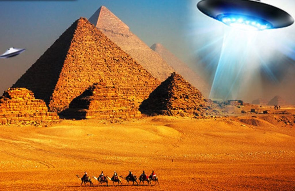 prova de que a Grande Pirâmide foi construída por alienígenas?
