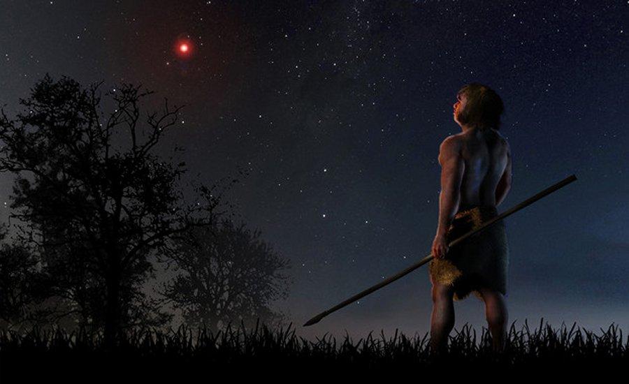 A passagem da estrela de Scholz perturbou cometas e asteroides