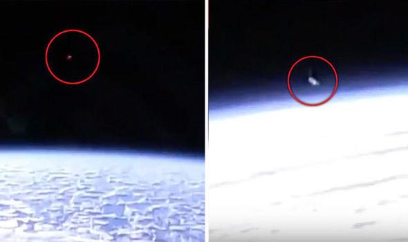 Teriam OVNIs sido filmados observando a Estação Espacial Internacional