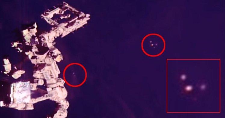Possível OVNI camuflado é visto próximo da ISS