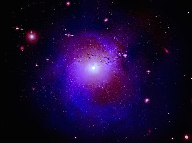 Espectro de luz desconhecido é observado no espaço