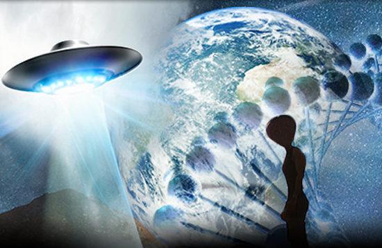 Os humanos são alienígenas híbridos