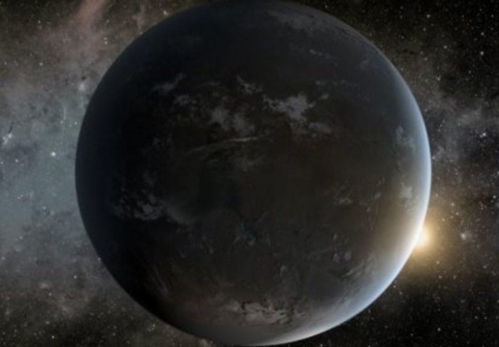 Alienígenas que vivem em planetas maiores que a Terra