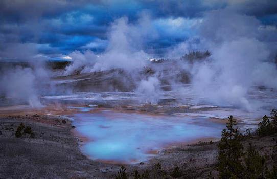 preparativos de emergência para erupção do super vulcão Yellowstone