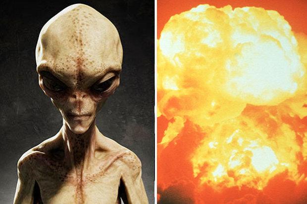 Alienígenas estão sabotando os armamentos nucleares