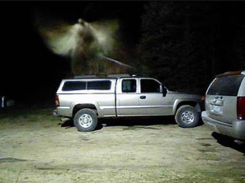 Criatura alada aparece em foto nos EUA