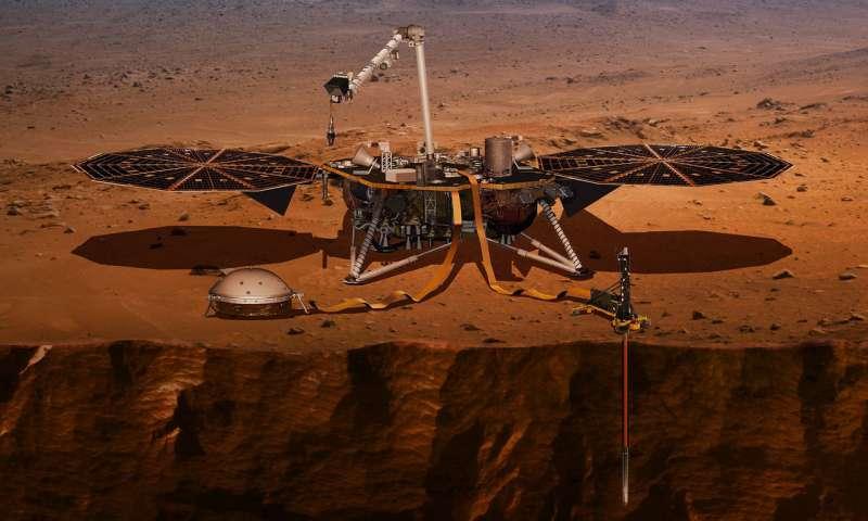 planície de Marte onde pesquisadores de OVNIs encontraram 'cidade'