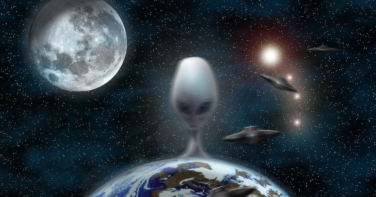 alienígenas têm estado conosco por muito tempo
