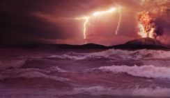 anomalia de sonar descoberta na costa dos EUA