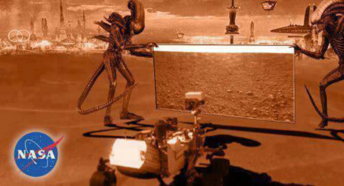 Até quando a NASA irá ocultar a vida alienígena