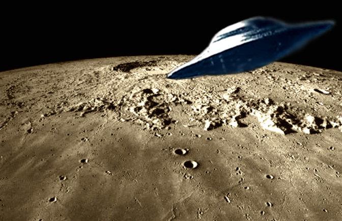 NASA tem registro do primeiro avistamento de OVNI na Lua