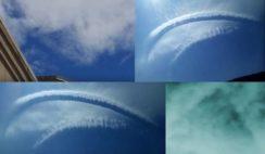 mais anomalias aparecem no céu em todo o mundo