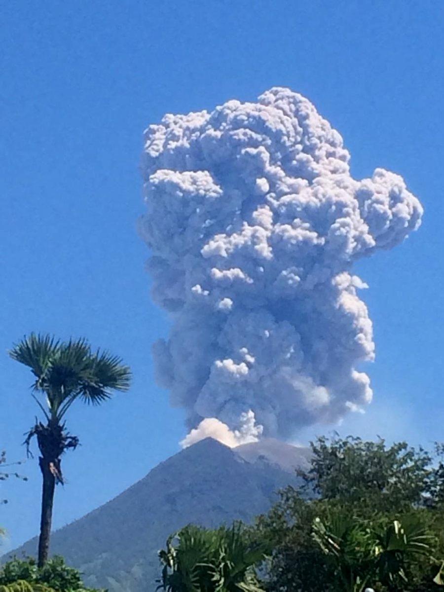 Atividade vulcânica ao redor do mundo nos últimos dias