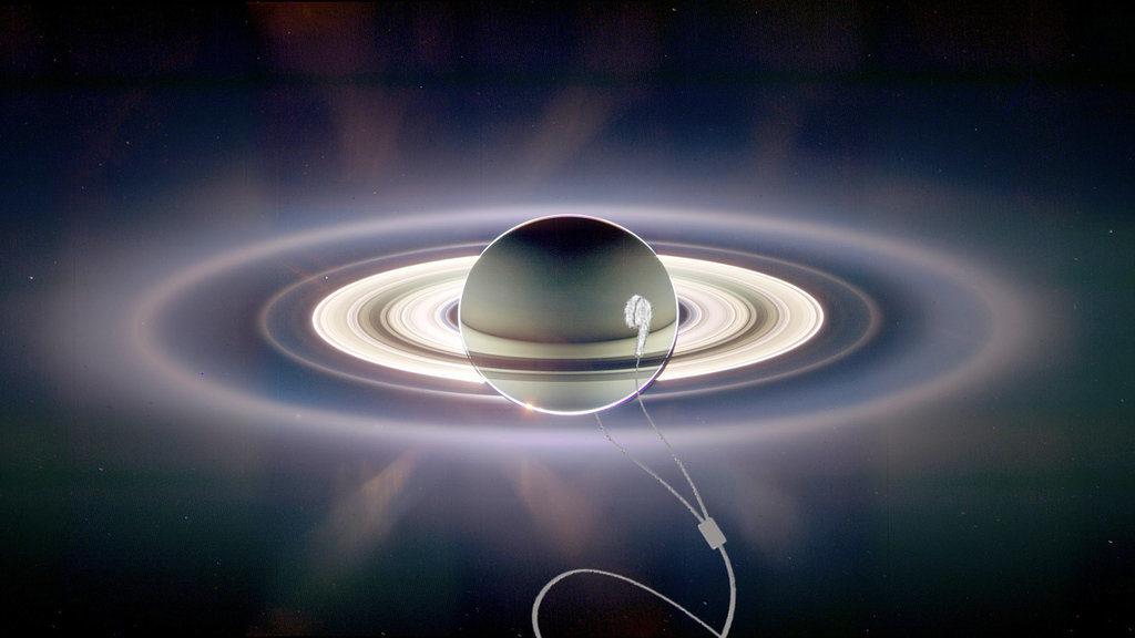 Sons estranhos são gravados ao redor de Saturno