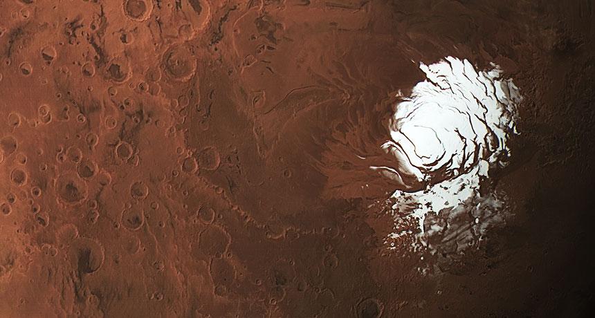 O que o lago recém encontrado em Marte significa para a procura por vida no Planeta Vermelho?